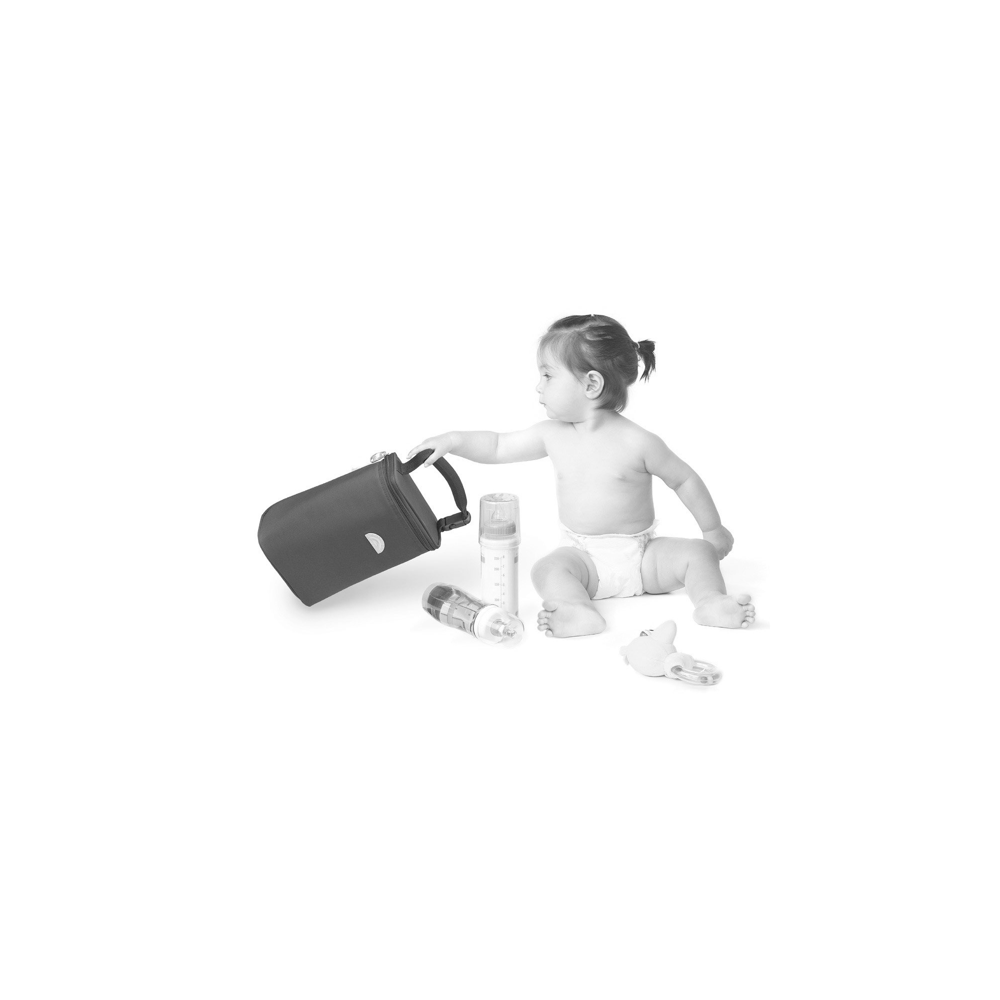 Baby Thermal Bottle Bag  Black