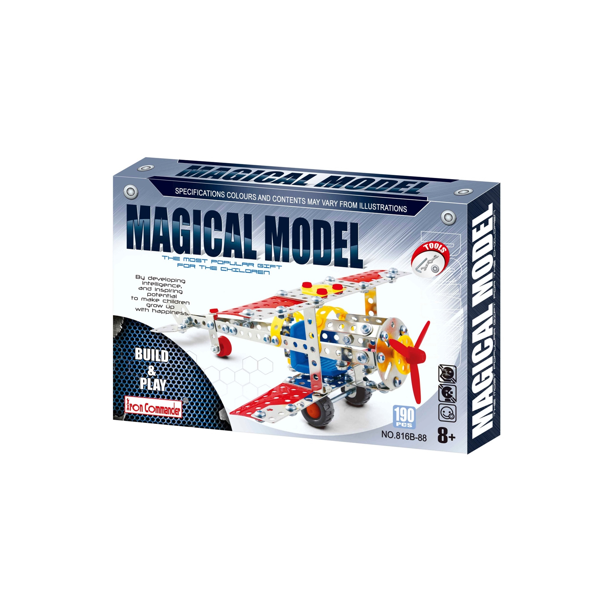 Metal Aircraft Model Set