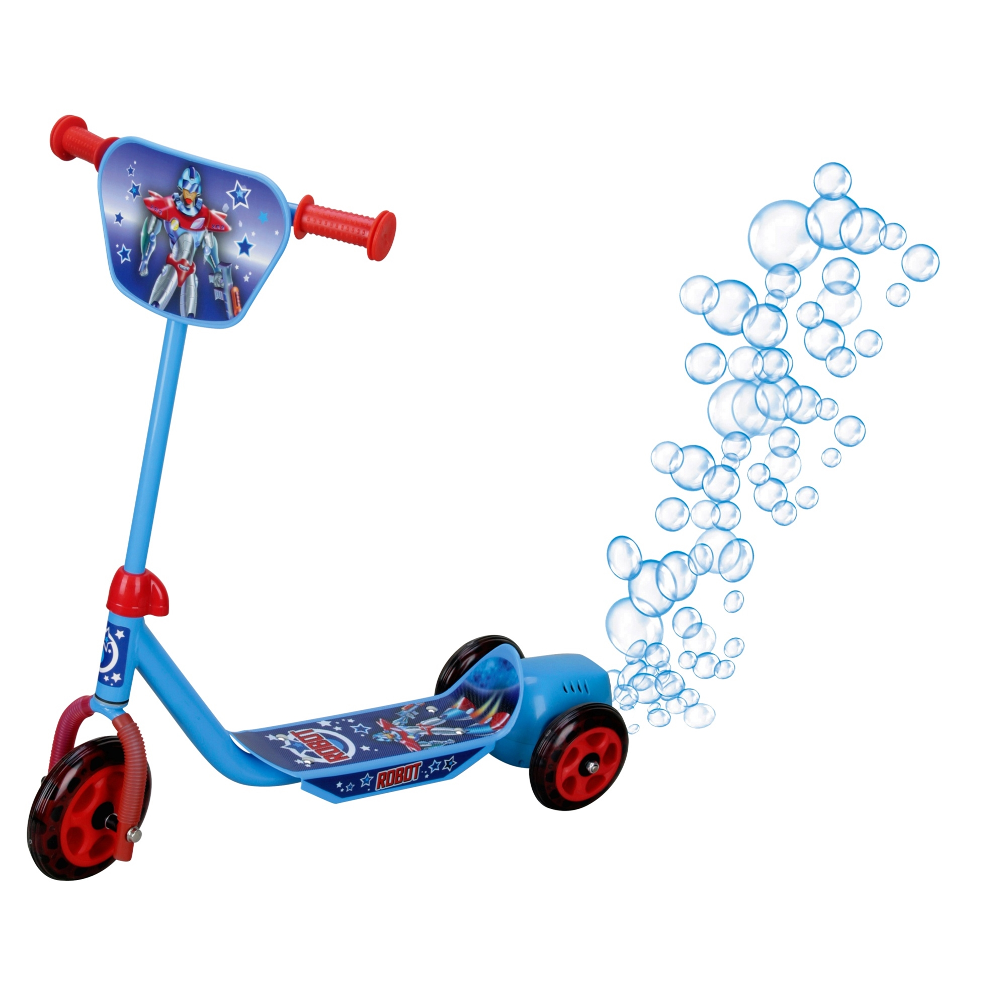 Blue Bubble Tri Scooter