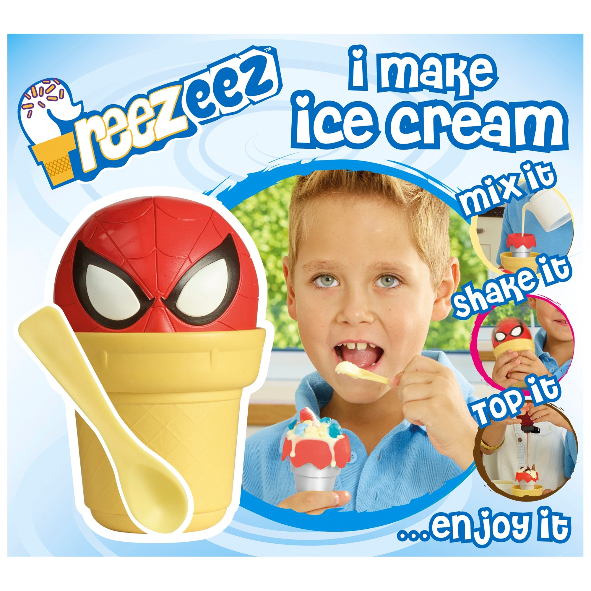 Spiderman Freezeez Ice Cream Maker