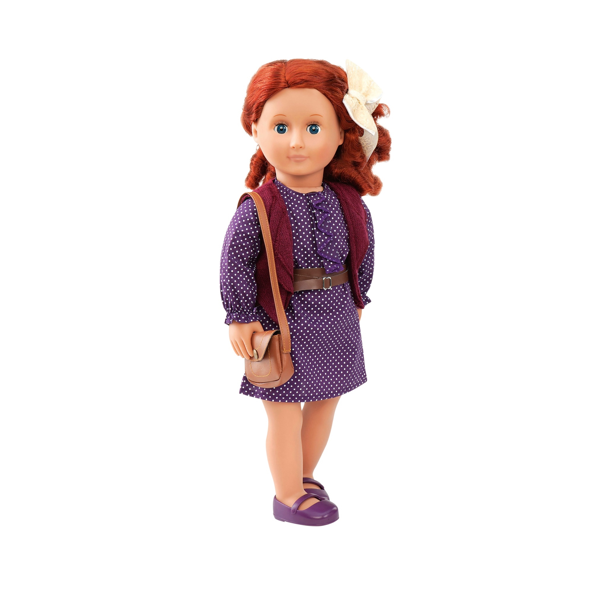 Our GenerationOutfit Purple Dress and Handbag