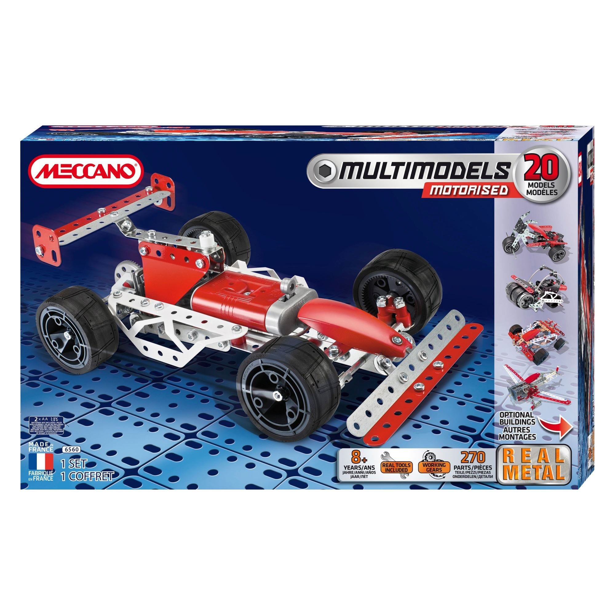 Meccano Multimodels 20 Model Set