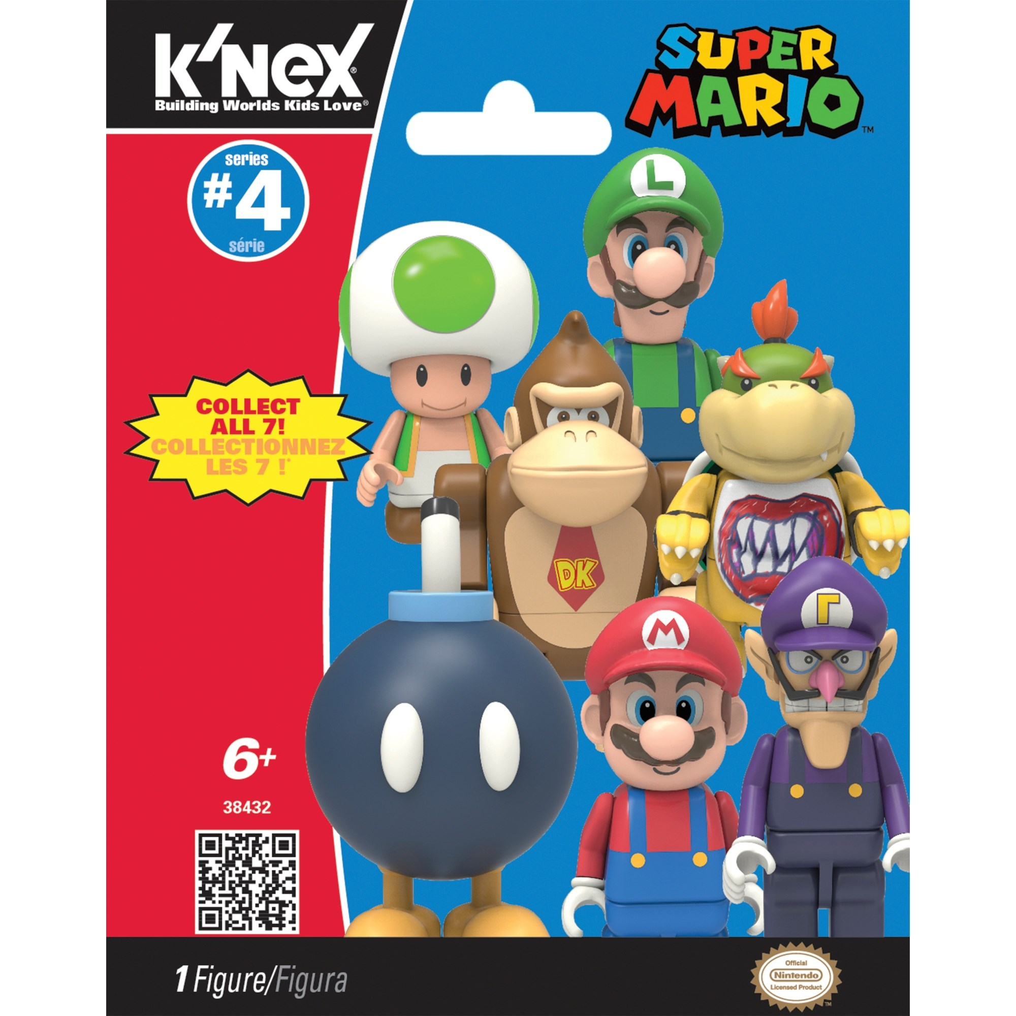 Knex Mystery Figure Bags   Series 4