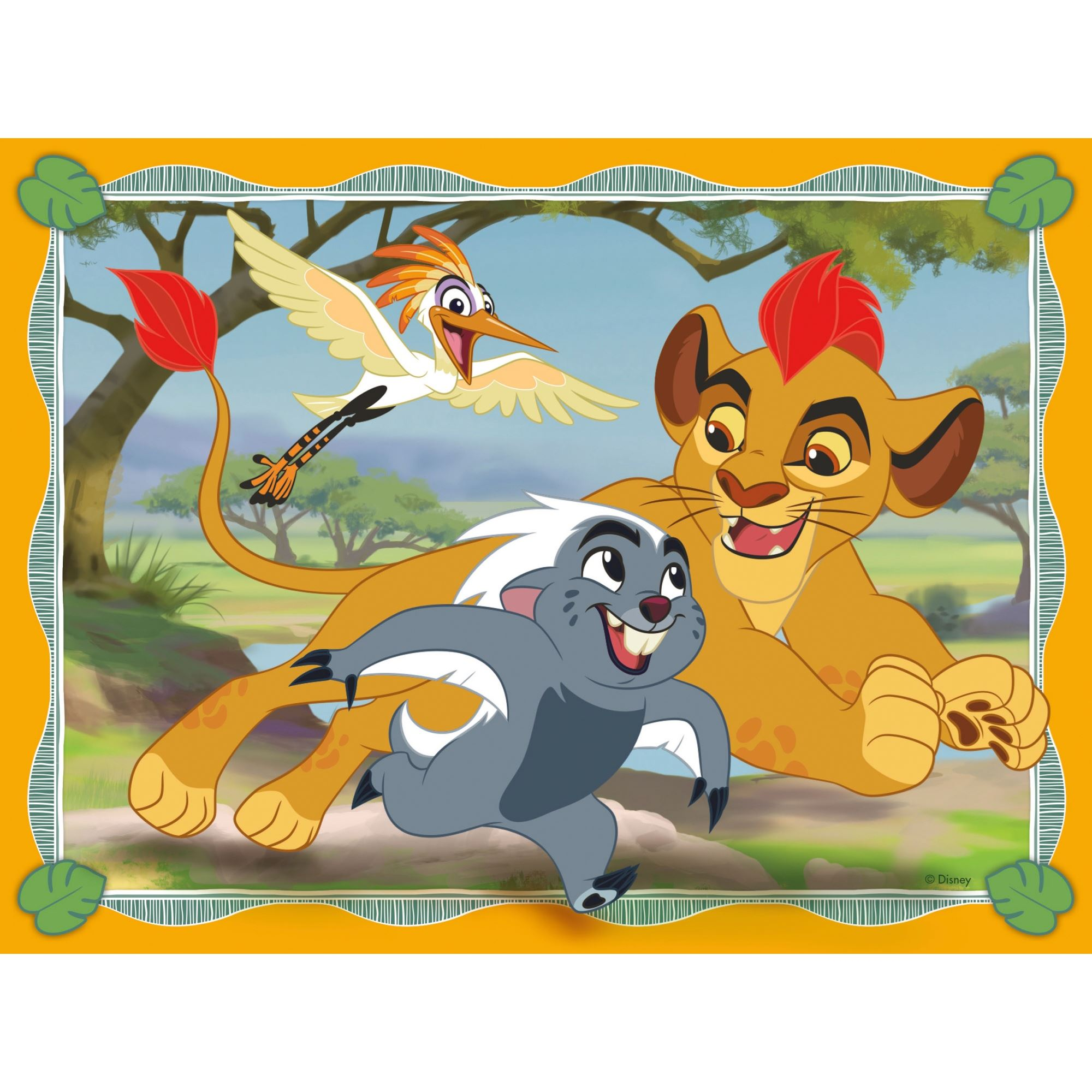 Ravensburger Disney The Lion Guard, 4 in a Box (12, 16, 20,