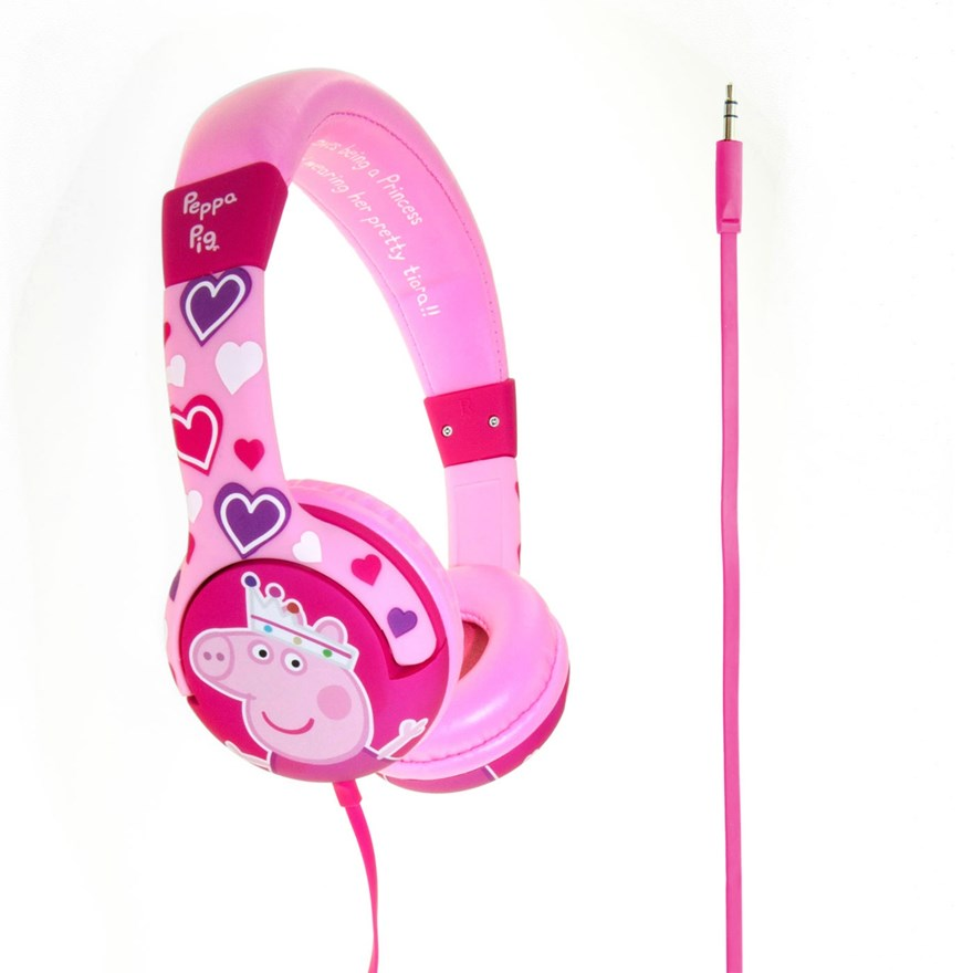 Peppa Pig Pink Princess Headphones