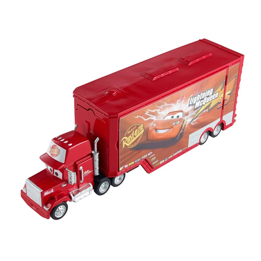 Disney Pixar Cars Transforming Mack Playset image-0