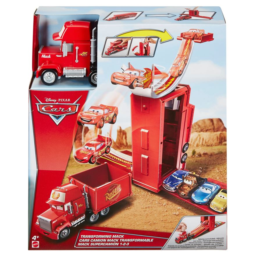 Disney Pixar Cars Transforming Mack Playset image-4
