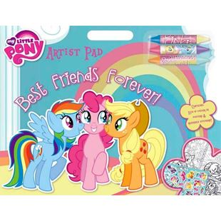 123707: My Little Pony Artist Pad Best Friends Forever