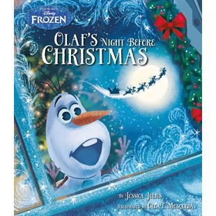 147031: Disney Frozen Olaf's Night Before Christmas Story Book