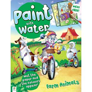 148853: Paint with Water Colouring Books - Assortment