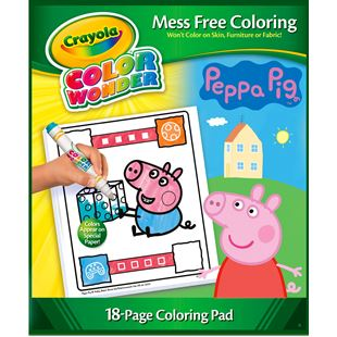 149270: Crayola Colour Wonder Peppa Pig