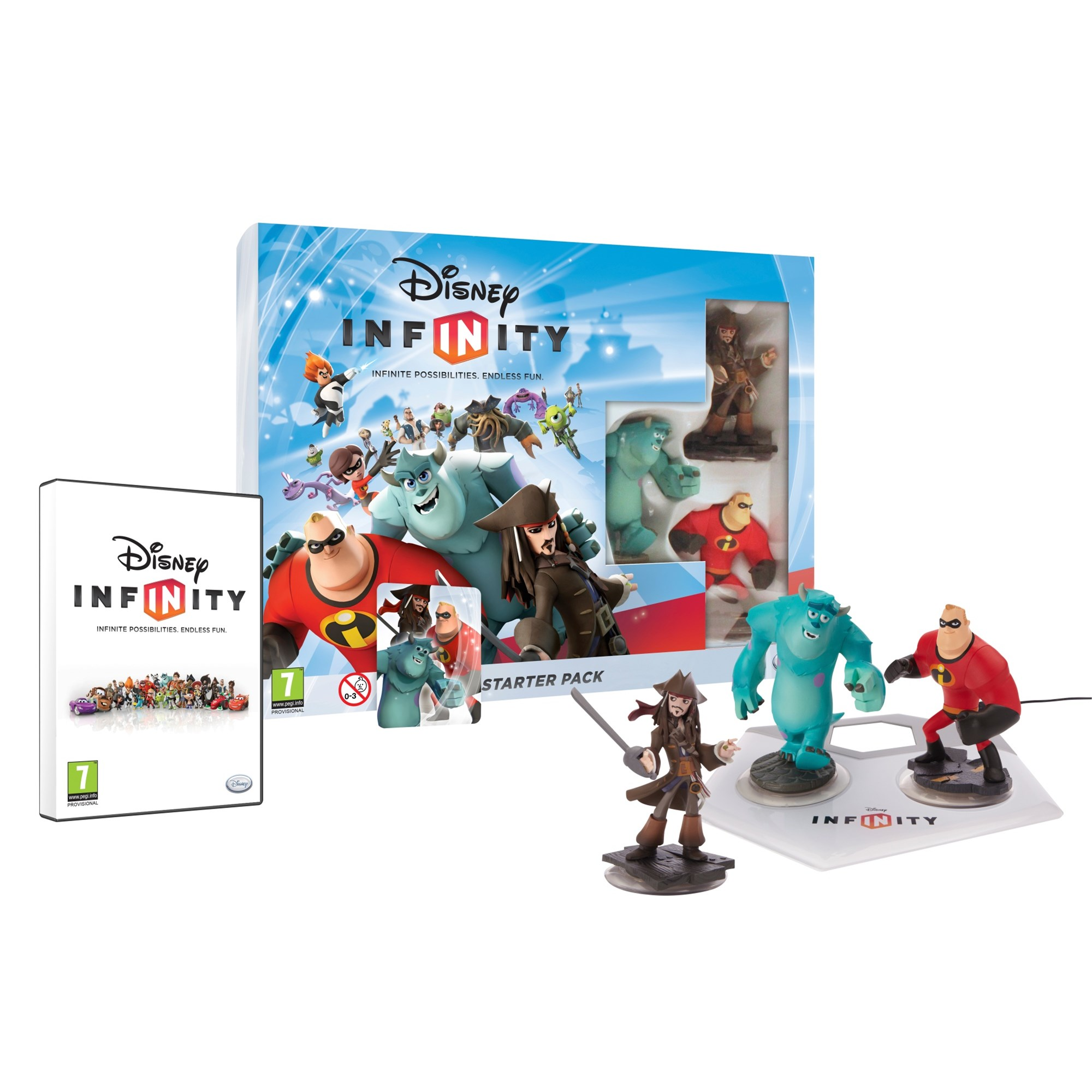 Disney Infinity Starter Pack  3DS