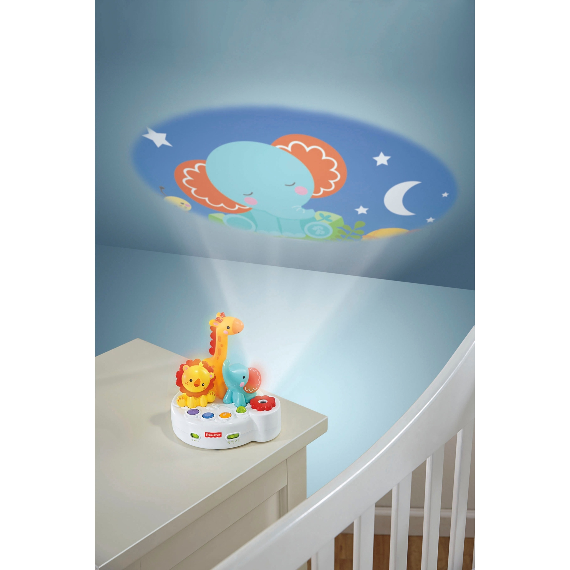 FisherPrice Rainforest 4n1 Projector Soother